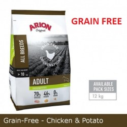PIENSO ARION ADULT CHICKEN & POTATO 12 kg SIN CEREALES