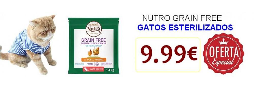 NUTRO GRAIN FREE GATOS