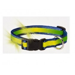 COLLAR REFLECTANTE - FLUORESCENTE PARA PERROS
