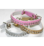 COLLAR GATO CON BRILLANTES