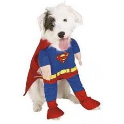 DISFRAZ SUPER-DOG PARA PERROS