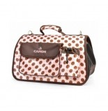 BOLSO CAMON TOPITOS ROSA