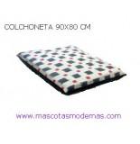 COLCHONETA 90X80 CM NEW BLACK PARA PERROS
