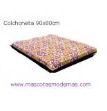 COLCHONETA 90X80 CM TANGERINE PARA PERROS